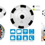 360度監視の防犯カメラ『ELEGIANTネットワークカメラ』